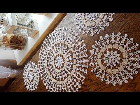 Çeyizlik Tığ işi Örgü Dantel Modelleri & Crochet knitting