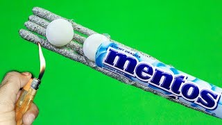 3 AWESOME Mentos Fun Experiments Tricks with sparklers