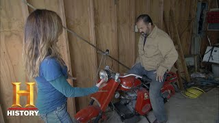 American Pickers: A Cushman Scooter Sale (Season 17, Episode 2) | History