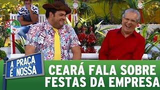 Matheus Ceará fala sobre as festas de confraternização de empresas   A Praça É Nossa (22/12/16)