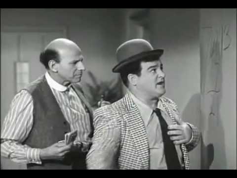 Abbott y Costello dando una clase de matematicas