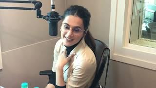 Best Ever Taapsee Pannu Interview | On Amitabh Bachchan & Sujoy G | Amaal Malik | Badla | Hrishikay