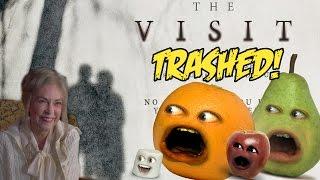 Annoying Orange - THE VISIT TRAILER Trashed! (M. Night Shayamalama ding dong's New Film)