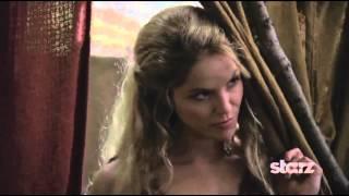 Ellen Hollman as SAXA on Spartacus, War of the Damned !!