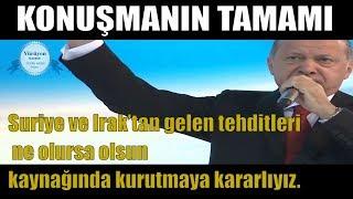 Cumhurbaşkanı Erdoğan 6. Olağan Büyük Kongresi 18 Ağustos 2018