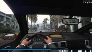GTA 5 PC 4K Driving First Person Rain Weather