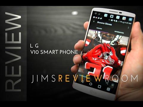 LG V10 Smartphone - REVIEW