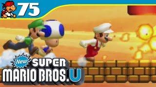 New Super Mario Bros. U | Run for It! - Superstar Road-2 - 75 (Wii U Gameplay Walkthrough)