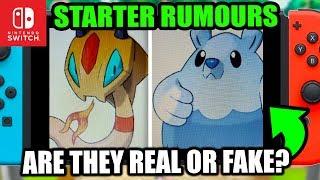 Pokemon Switch 2019 Rumour - THESE STARTERS Look Great!?, Pokemon Generation 8!?