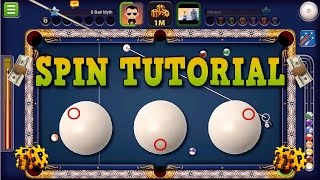 8 Ball Pool - Spin Tutorial | How To Use Spin in 8 Ball Pool (No Hacks/Cheats)
