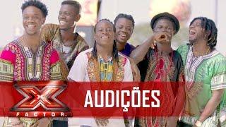TropeirÁfrica levantou a plateia | X Factor BR