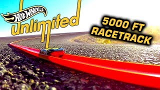 BIGGEST HOT WHEELS TRACK EVER MADE? | Hot Wheels Unlimited | Hot Wheels
