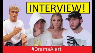 RiceGum , FaZe Banks & Alissa Violet INTERVIEW! #DramaAlert Jake Paul FINISHED? (Security Footage)?