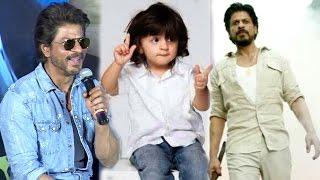 AbRam Khan Khan's CUTE REACTION On Shahrukh Khan's RAEES Trailer