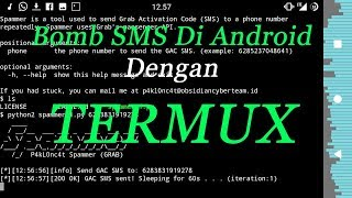 How To Install SMS BOMB On Android Using TERMUX