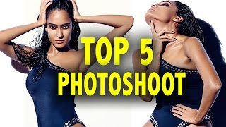 Top 5 Hot Photoshoot   Sunny Leone   Parineeti Chopra   Lisa Haydon   Geeta Basra   Anushka Sharma