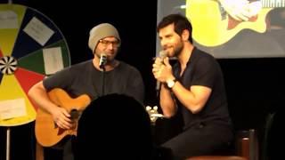 JIBland 2 - David Giuntoli sings/dances with Jason Manns