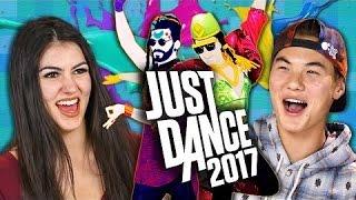 REACT - JUST DANCE 2017 Teens React  Gaming #react
