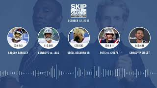 UNDISPUTED Audio Podcast (10.12.18) with Skip Bayless, Shannon Sharpe & Jenny Taft | UNDISPUTED