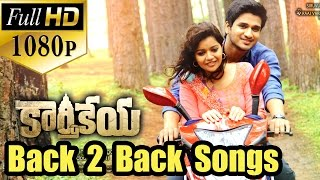 Karthikeya Back 2 Back All Video Songs - Jukebox - Nikhil Siddharth, Swati Reddy - Full HD 1080p..