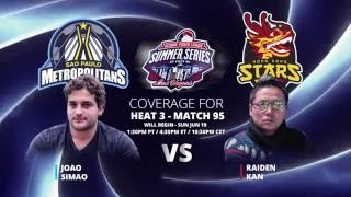 GPL Summer Series - Raiden Kan vs. Joao Simao - Live from The Cube - W11M95