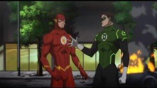 Liga de la justicia: Guerra - Flash conoce a Batman
