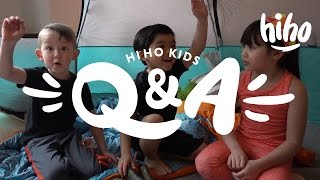 Tent Talks with The HiHo Kids