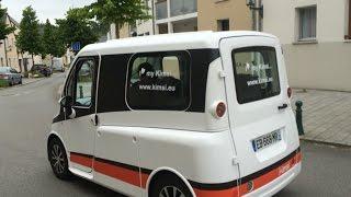 La Kimsi, 1re voiture qui se conduit sans quitter son fauteuil roulant