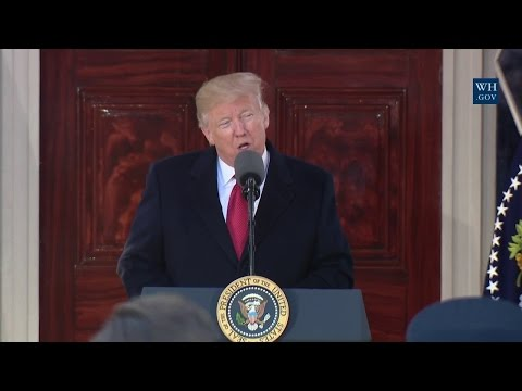 President Trump Makes Remarks at the Hermitage