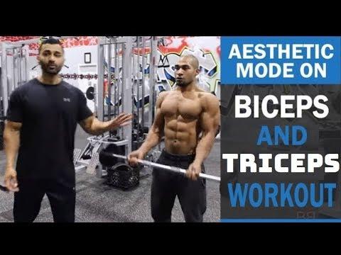Xxx Mp4 Bicep Tricep AESTHETIC MODE ON Workout DAY 6 Hindi Punjabi 3gp Sex