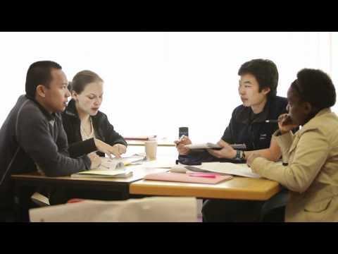 Postgraduate students in the School of International Development