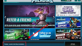 Paladins (Unable to Find steam installation) Hatası Çözümü %100 Patch Sorunu !