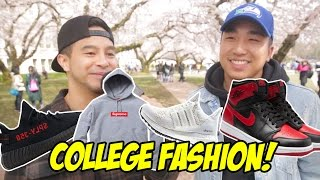 What are college students REALLY wearing?!