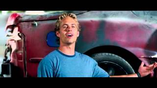 Rapido y Furioso 7 Escena Final Homenaje Postumo Paul Walker