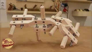 Make Wooden Screw Clamps from Plywood