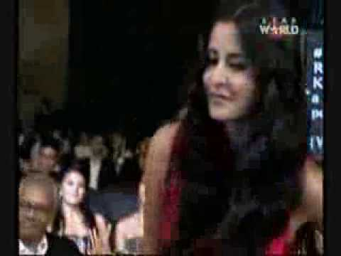 Katrina Kaif Receiving GQ Woman of the Year Award