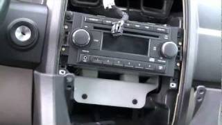 Chrysler 300 Dash Bezel Removal And Center Console Removal