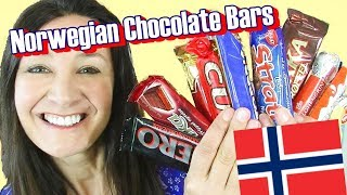 Norwegian Chocolate Candy Bar Taste Test