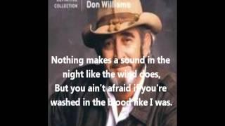 Don Williams-Good Ole Boys Like Me (With lyrics)