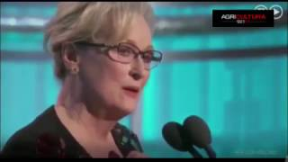 El duro discurso de Meryl Streep contra Donald Trump en los Globos de Oro 2017
