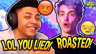 MYTH DISSES NINJA FOR BEING A HYPOCRITE/FAKE ABOUT SWEARING! *BEEF!* Fortnite SAVAGE & FUNNY Moments