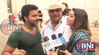 Dhirender Chaubey   Bhojpuri superstar Actor Pawan Singh Anaya Gupta Masti Interview