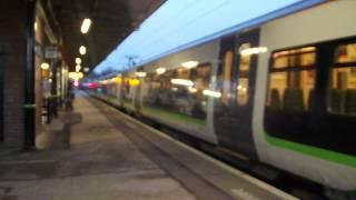 London Midland EMU 323214 Departing Lichfield City