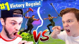 Muselk Vs. Ali-A In Fortnite Battle Royale!