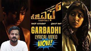 "Pakistani Reaction On ""Garbadhi Song with Lyrics | KGF Kannada Movie | Yash | Reactionmania"