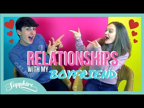 Download Lagu RELATIONSHIPS with my BOYFRIEND | Teen Talk | Sapphire MP3