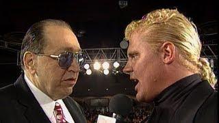 Gorilla Monsoon interviews Mr. Perfect: Raw, April 4, 1994