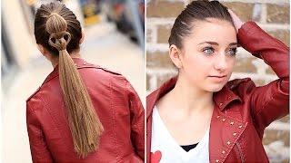Heart Ponytail | Valentine's Day Hairstyles