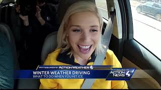 Winter weather driving: How to drive in icy conditions