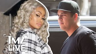 Rob Kardashian Vs. Blac Chyna: Drugs & Strippers   TMZ Live